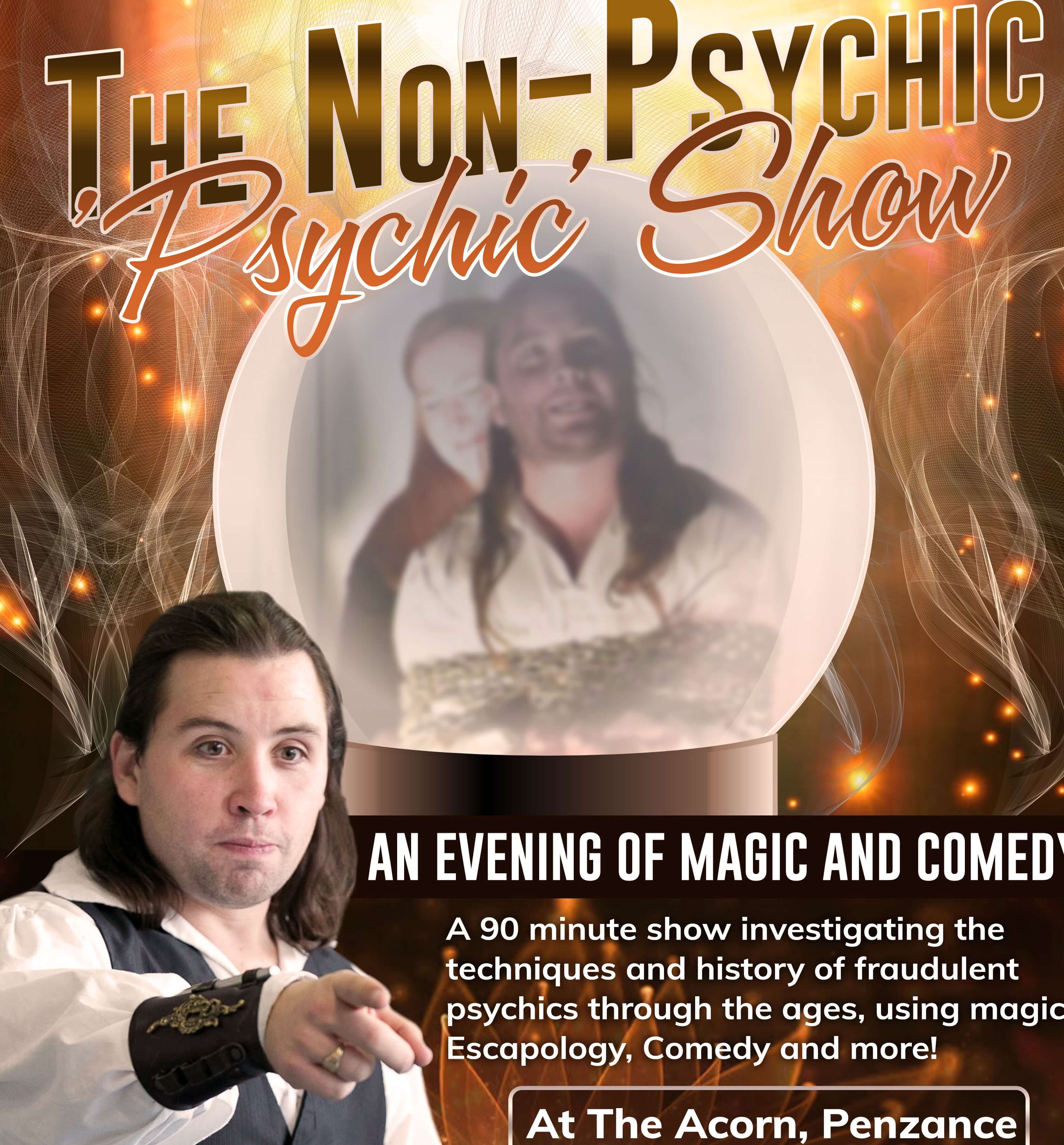 """The Non-Psychic """"Psychic"""" Show"""
