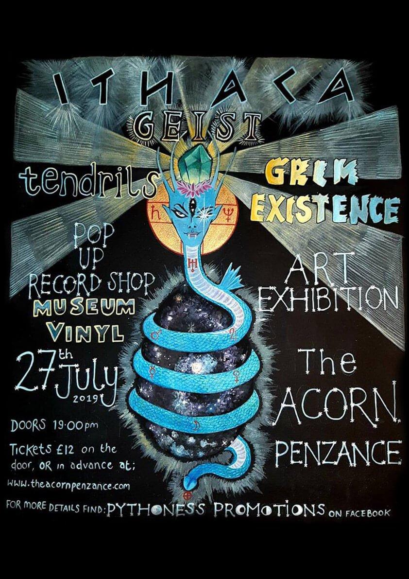Heavy Metal - with Ithaca, Monolithian, Tendrils, Grim Existence.