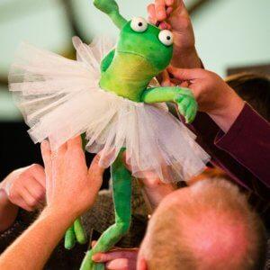 Dancing Frog By Kneehigh