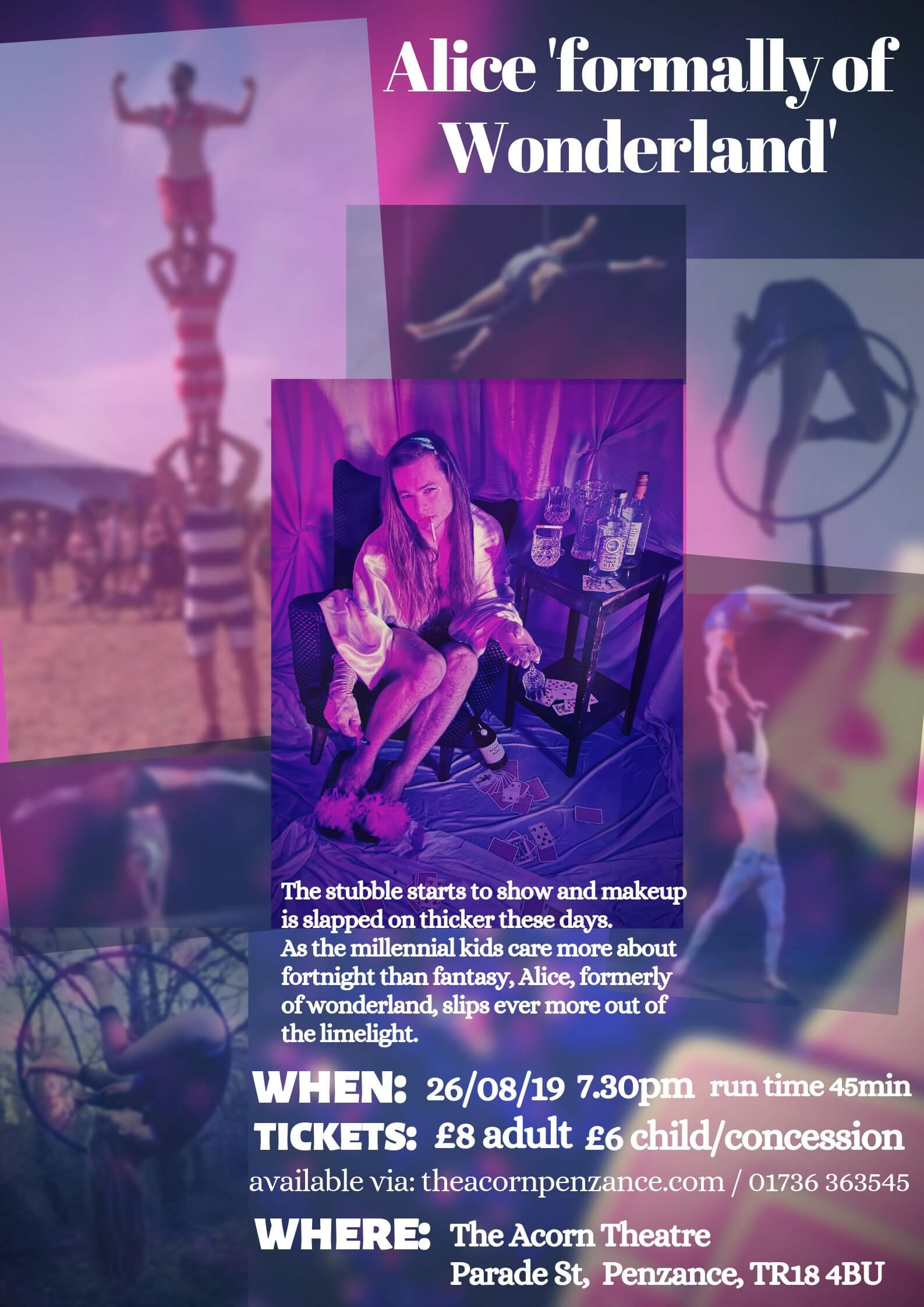 Pokya Entertainment Presents :Alice formerly of Wonderland: