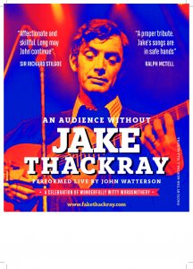 An Audience without Jake Thackray