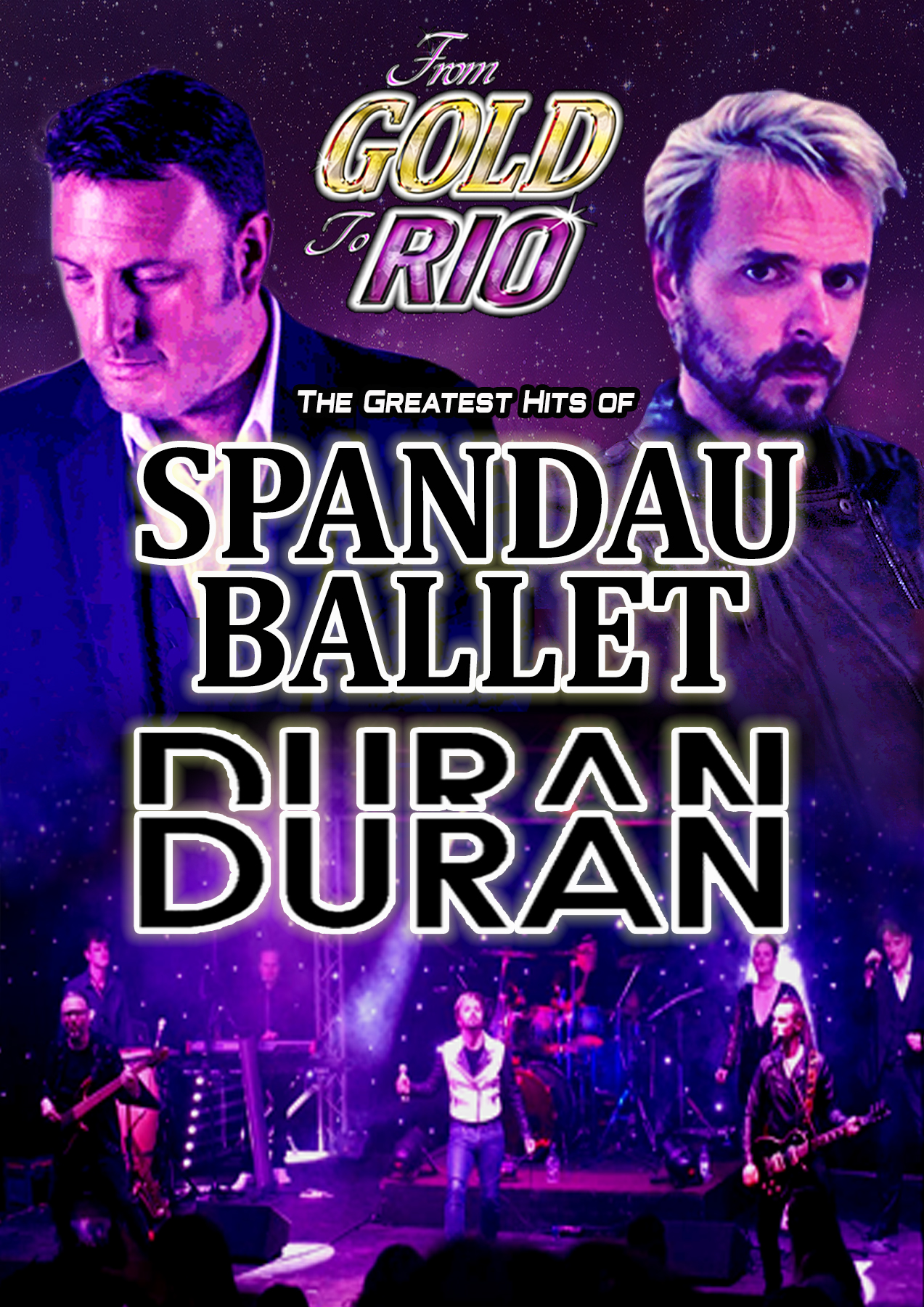 From Gold to Rio-The Greatest Hits of Spandau Ballet & Duran Duran
