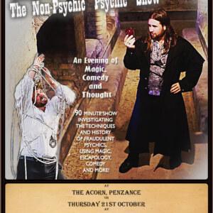 "Greg Chapman's The Non-Psychic ""Psychic"" Show"